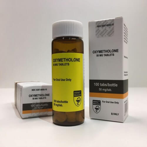 Oxymetholone Hilma Biocare 50mg Box Of 100 Tabs