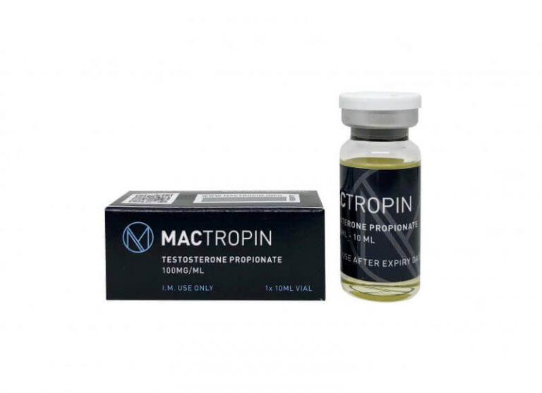 Buy Testosterone Propionate 100mg 10ml - Mactropin UK - UKSteroidShop